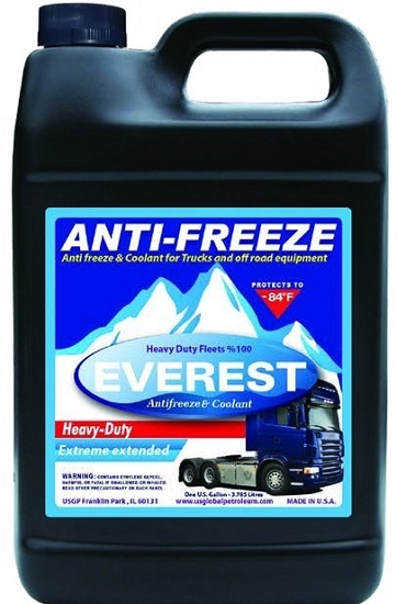 Everest Antifreeze And Coolant American Made Motor Oil